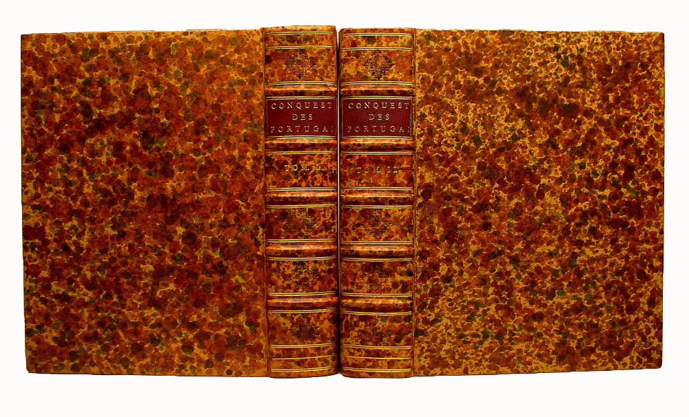 Early French period style bookbinding