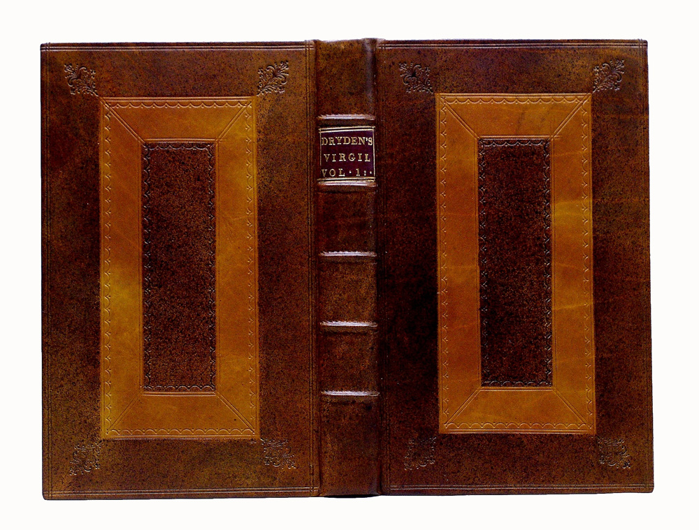 Cambridge calf period style bookbinding