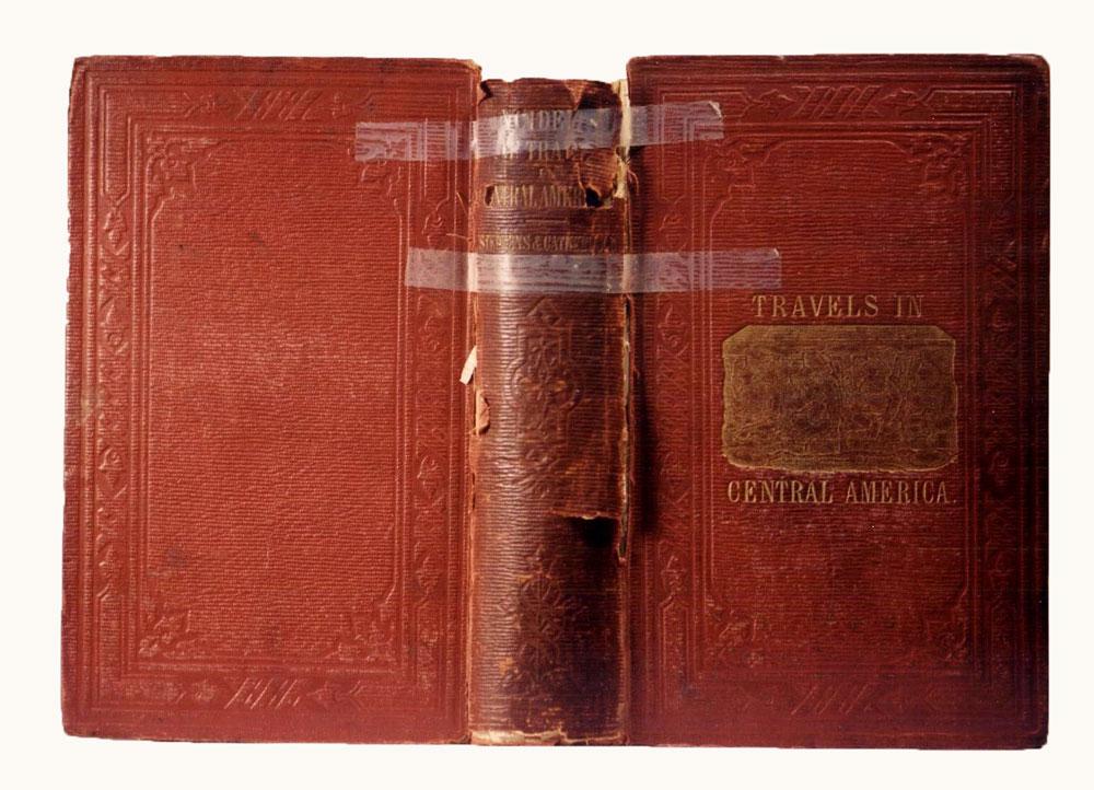 cloth book restoration, cloth book repair,