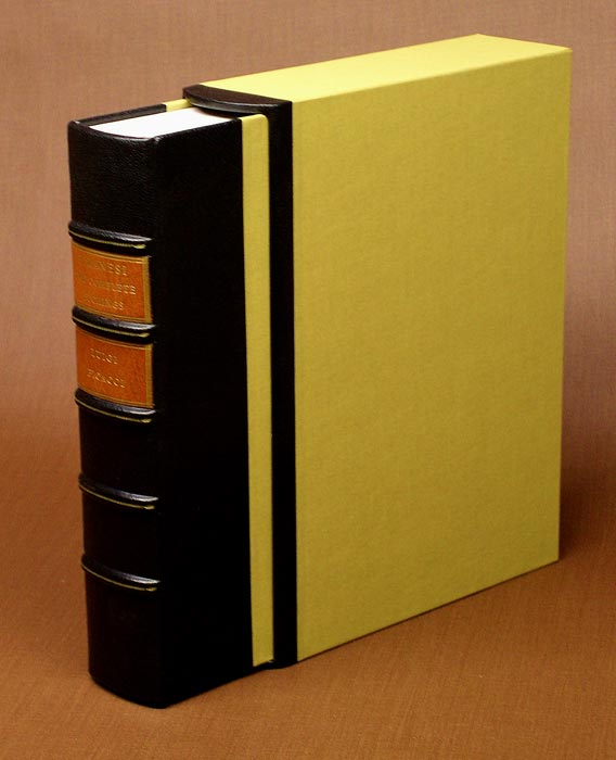 leather trimmed slipcase