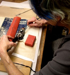 dust jacket repair, dust jacket restoration
