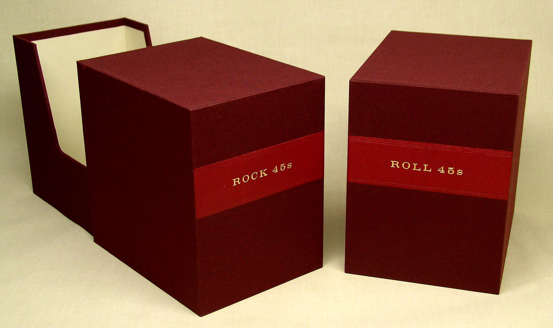 custom slipcases for 45 rpm records