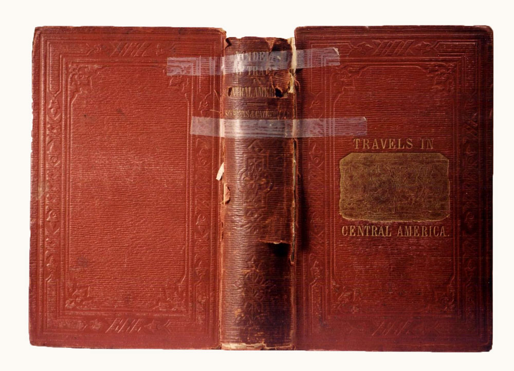 cloth book restoration, cloth book repair,