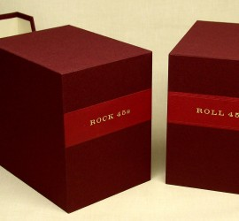 custom slipcases for 45 rpm records