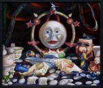 Nativity Mandala, oil on canvas, copyright Taff Fitterer