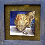 Nuts and Lost Marbles #2, oil on panel, copyright Taff Fitterer